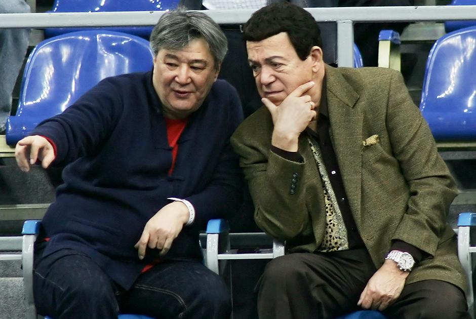 Алимжан Тохтахунов и Иосиф Кобзон