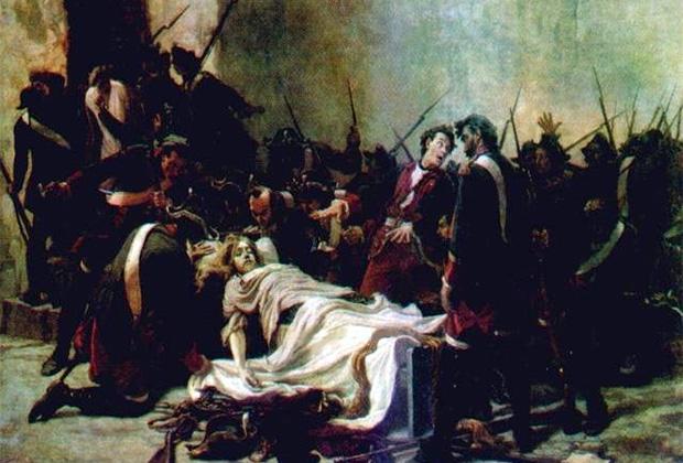 Иван Творожников «Мирович перед телом Ивана VI»