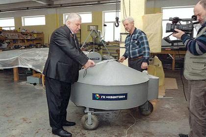 Замер габаритов «шасси на колесах» с КвД-1-2009 во время «контрольных испытаний»