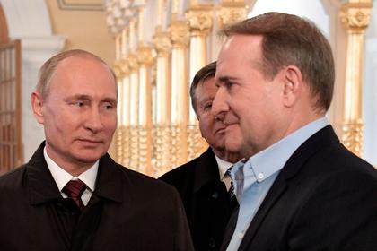 Владимир Путин и Виктор Медведчук