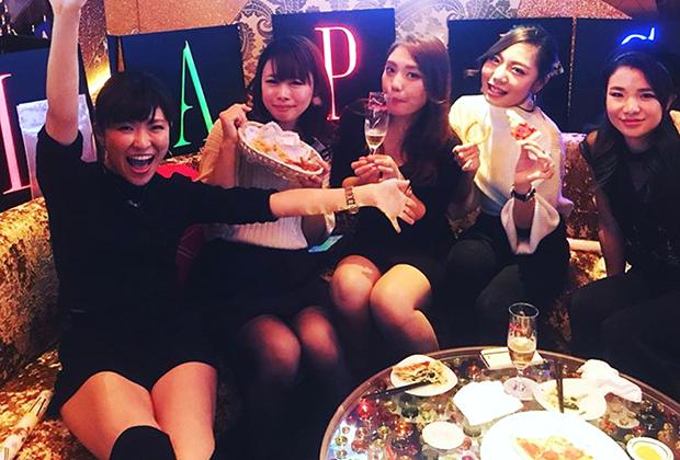 Ночной клуб Lapis в Токио