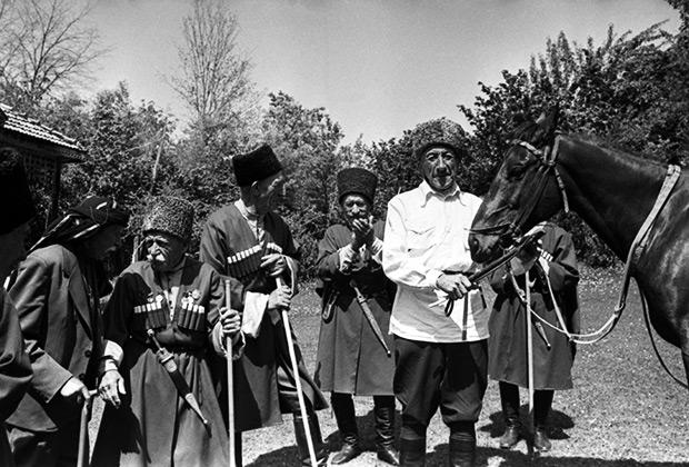Абхазская АССР. Село Ачандара в Гудаутском районе