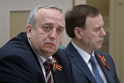 Франц Клинцевич (слева)