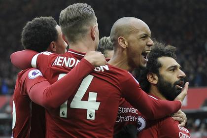 «Ливерпуль» забил два безответных гола «Челси» в матче АПЛ