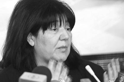 Вдова Милошевича скончалась в Российской Федерации