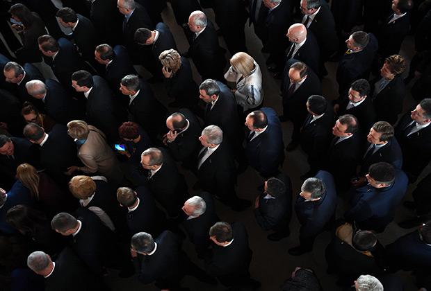 После выступления президента РФ Владимира Путина с ежегодным посланием Федеральному собранию