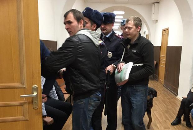 Андрей Жданов (слева) и Максим Матюшев (справа)