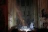 Некоторые реликвии, находящиеся внутри, удалось спасти: в частности, терновый венец, тунику святого Людвига и несколько картин.