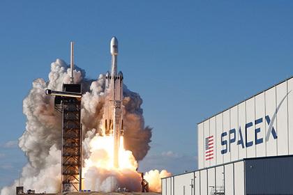 SpaceX потеряла центральный блок FalconHeavy