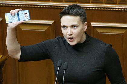 Савченко собралась бороться за власть на Украине