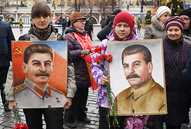 Акция памяти приурочена к 66-й годовщине со дня смерти И.В. Сталина
