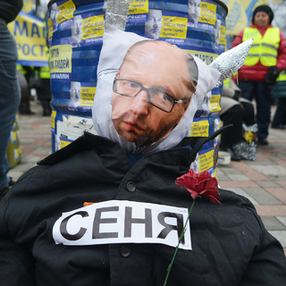 Архивное фото с акции «Майдан простых людей»