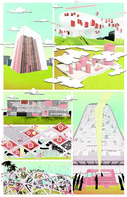В работе Анны Кучера апокалипсис локальный — он уничтожил всего лишь смысл жизни архитектора в современном понимании.