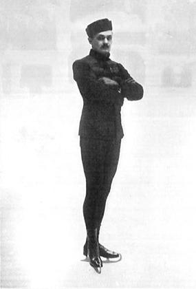 Николай Панин-Коломенкин стал первым россиянином, который победил на Олимпиаде в фигурном катании. Он же первым использовал в своем костюме национальные мотивы. Игры в Лондоне в 1908 году.