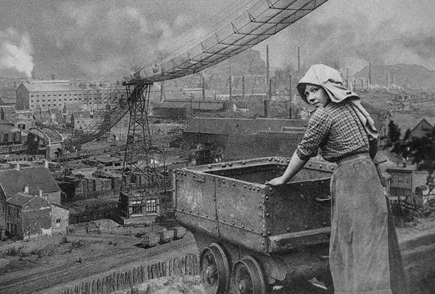 Работница немецкой шаÑты, 1920-е годы