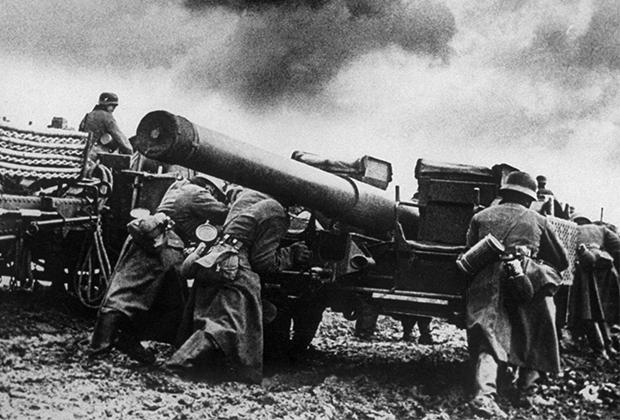Немецкие солдаты в Норвегии. Оккупация этой страны позволила им получать чрезвычайно необходимую военной промышленности железную руду из Швеции