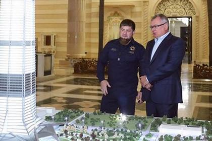 Рамзан Кадыров и Андрей Костин
