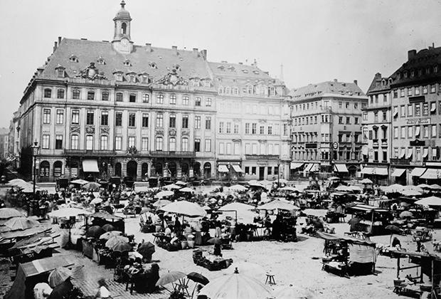 Дрезден, 1910 год
