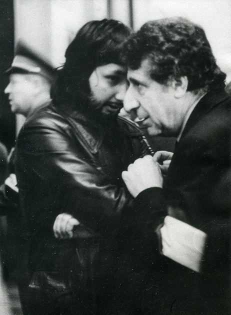 С Арно Бабаджаняном, 1978 год