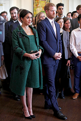 Беременная Меган Маркл и принц Гарри