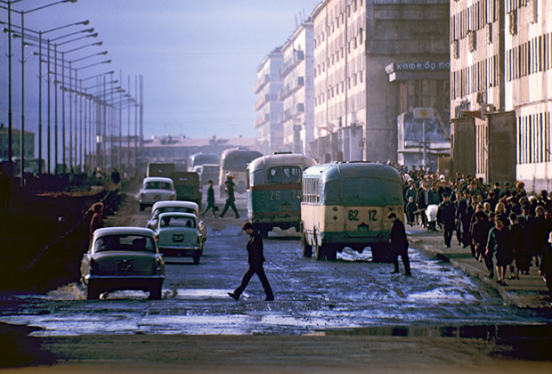 Норильск, 1969 год