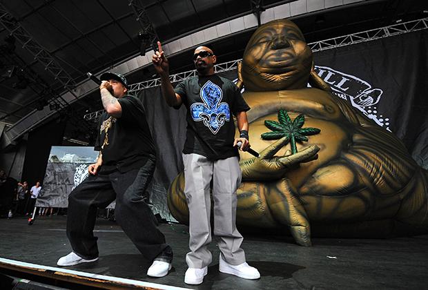 Выступление группы Cypress Hill