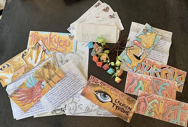 Любовные письма Тайрона Такера