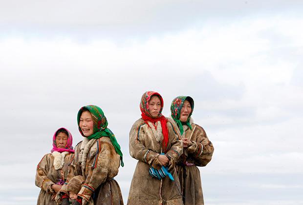 Ненецкие женщины, 2009 год