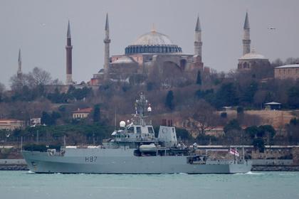 ВЧерное море вошел разведывательный корабль Англии