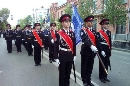 Открытие нового кадетского корпуса