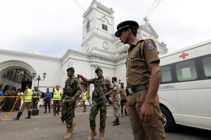 Задержаны подозреваемые по делу о терактах в Шри-Ланке