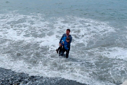 Российский турист спас ребенка в Черном море