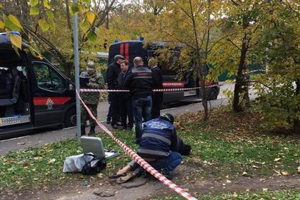 На месте убийства следователя по особо важным делам управления на транспорте МВД по ЦФО Евгении Шишкиной