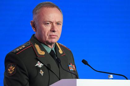 Заместитель Министра обороны РФ, генерал-полковник Александр Фомин
