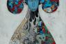 Доржиев пришел в современное искусство из кинематографа — где работал художником по костюмам на таких фетишистских с точки зрения этнографической правды фильмах, как «Монгол» Сергея Бодрова и «Небесные жены луговых мари» Алексея Федорченко. Тем интереснее, что в своих живописных полотнах Доржиев раз за разом выворачивает наизнанку, освобождает этнографические клише — выходя через них на территорию гротеска.