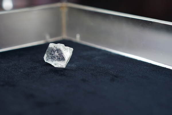 В России добыли огромный алмаз