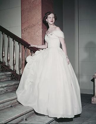 Принцесса Маргрете Датская в день своего 18-летия, 1958 год