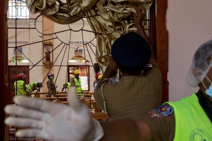 В ИГ назвали имена исполнителей терактов в Шри-Ланке