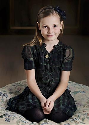 Ингрид Александра в свой восьмой день рождения, 2012 год