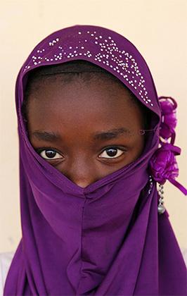 Мавританская девочка