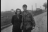 Портрет американского солдата и девушки. Нидерланды, 1944 год.