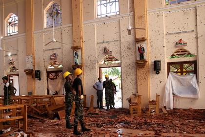 Стало известно о планах террористов устроить вторую серию атак на Шри-Ланке