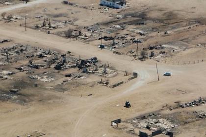 Ущерб от пожаров в Забайкалье оценили в один миллиард рублей
