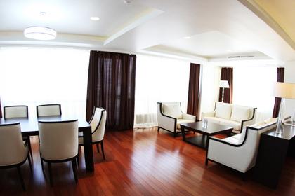 Президентский номер гостиничного комплекса ДВФУ