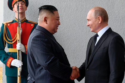 Ким Чен Ын и Владимир Путин