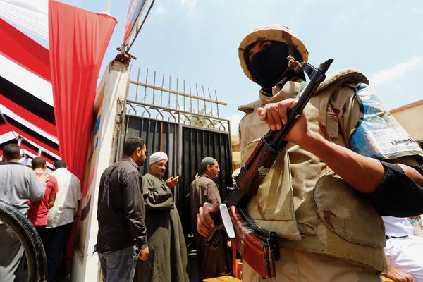 В Египте объявлен режим ЧП