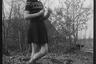 Портрет местной девушки. Нидерланды, 1944 год.