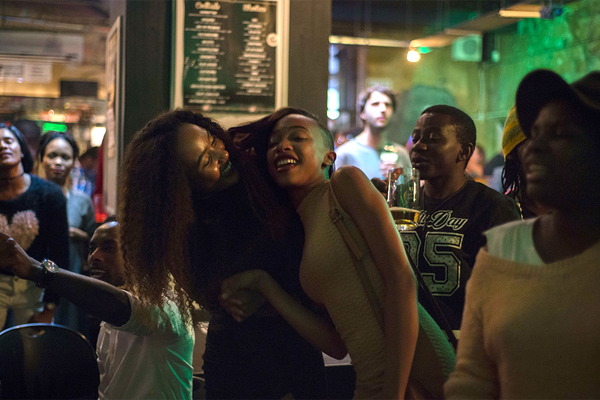 May 11, 2016 - Windhoek, Namibia - Night karaoke in the most popular bar in Windhoek, Namibia, on May 11, 2016. (Credit Image: Global Look Press via ZUMA Press)