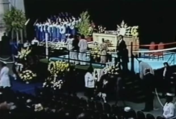 Похороны Джо Луиса, 1981 год