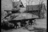 Подбитый танк «Шерман». Нидерланды, 1944 год.